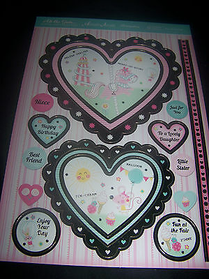 Hunkydory Adorable Scorable Fun At The Fair Toppers-Card-Inserts-Envelopes
