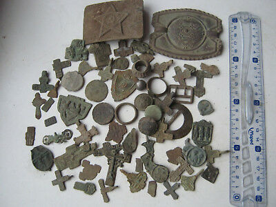 Metal detector finds.Mix lot. From Kievan Rus to the USSR