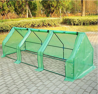 Outsunny Portable 9 x 3 ft. Flower Garden Greenhouse