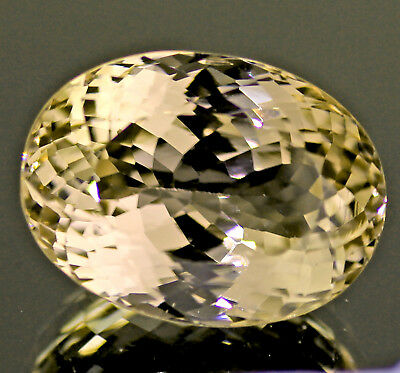 55.5 Ct 100% Natural Yellow Kunzite No Treatment Afghanistan