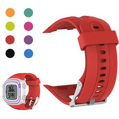 Men's watch Replacement Silicone Band Strap Accessory For Garmin Forerunner10/15