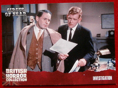 BRITISH HORROR COLLECTION - Circus of Fear - INVESTIGATION - Card #90