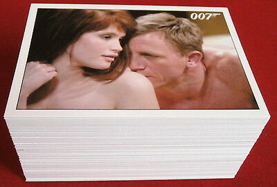 JAMES BOND Quantum Of Solace, COMPLETE 90 Card Base Set - RITTENHOUSE ARCHIVES