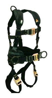 Falltech Arc Flash Electrician Belted Full Body Safety Harness 3 D-Ring Small