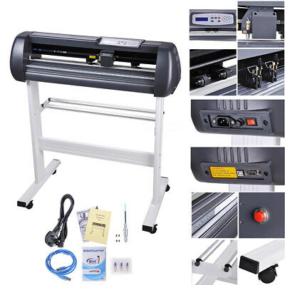 "28"" Vinyl Cutter Plotter Printer Sticker Cutting Business Sign Making SignCut"