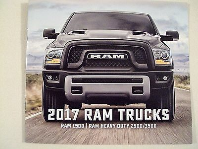 NEW 2017 Dodge Ram Trucks 1500 RAM HEAVY DUTY 2500 3500 Original Sales Brochure