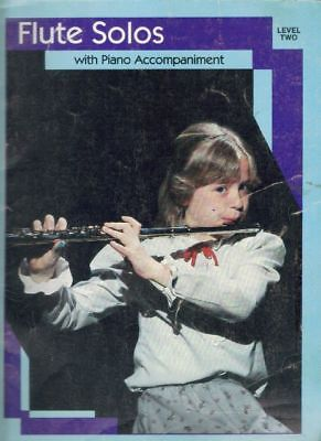 Flute Solos with Piano Accompaniment, Level 2
