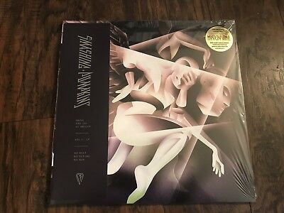 Smashing Pumpkins Shiny And Oh So Bright Mystery Black Vinyl LP Opened