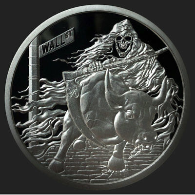 """2018 1Oz Rate Reaper Proof - Silver Shield - """"in-Hand"""" Low Mini-Mintage"""