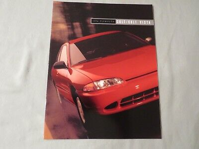 Original 1994 Plymouth Colt / Colt Vista Dealer Brochure