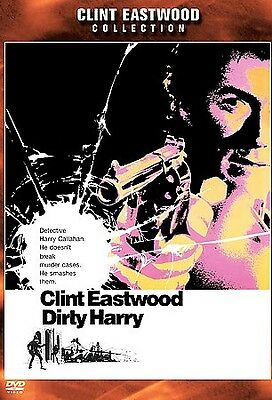 Dirty Harry (DVD, 2001, Clint Eastwood Collection) Widescreen  (AMAZING DVD NEW