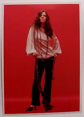 JANIS JOPLIN - Classic Photo by Jim Marshall - New post card, Out of print.