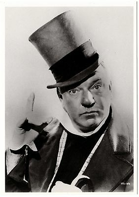 W.C.Fields - Classic photo (4.25 in. x 6 in. post card) New & out of print