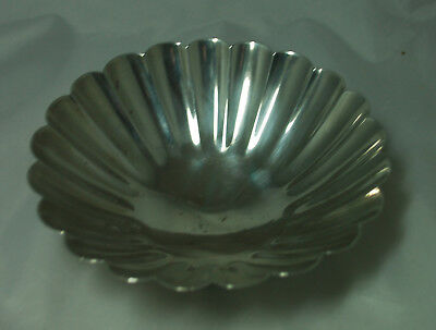Japanese Sterling Silver Bowl Kuyeda 950 Grade 153g A685217