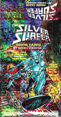 1992 Comic Images THE SILVER SURFER Sealed Card Box. All PRISM cards
