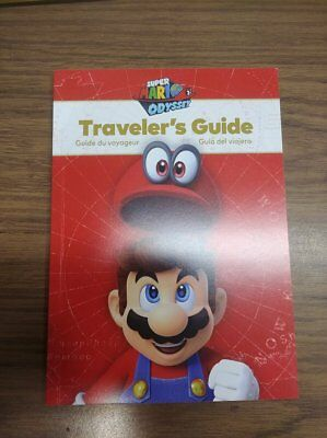 Traveler's Guide for Super Mario Odyssey (Nintendo Switch) Brand New (Book Only)