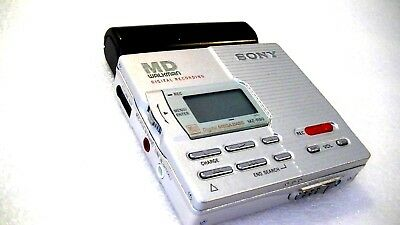 Vintage Sony Minidisc Walkman Recorder Model Mz-R90