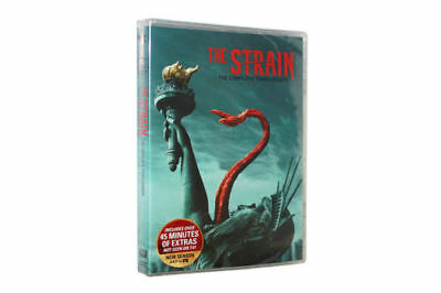 The Strain: The Third Season Three 3 (DVD, 2017, 3-Disc) FREE SHIPPING US SELLER