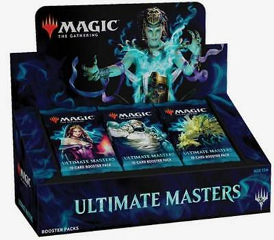 MTG English Ultimate Masters Booster Box w Topper FACTORY SEALED