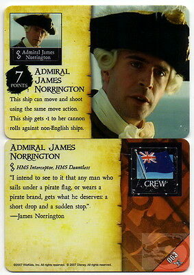 Wizkids Pirates of the Caribbean #063 Admiral James Norrington Pocketmodel CSG