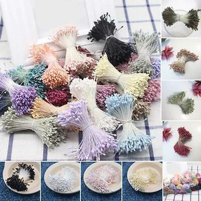 380Pcs Artificial Flower Stamen Floral Pistil Cake DIY Wedding Party Decor Craft