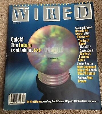 Wired Magazine  January 1999 - William Gibson Special Retro Computing Free Post