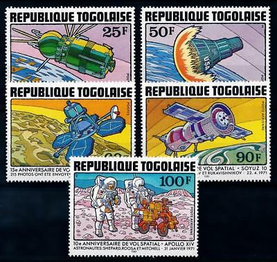 [64446] Togo 1981 Space Travel Weltraum   MNH
