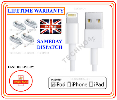 Genuine iPhone 5,6,7,8,X 7,8 Plus iPhone for Apple Lightning USB Charger Cable