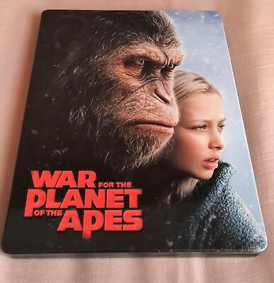 Steelbook War For The Planet Of The Apes Manta Lab