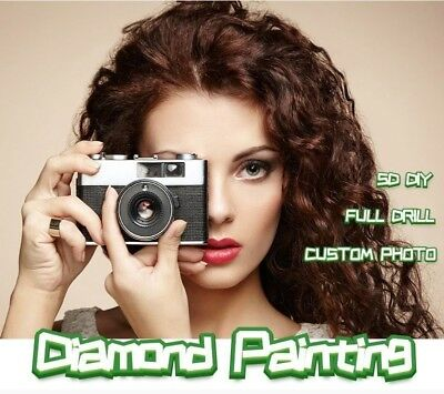 Diamond Painting Custom Photo 5D DIY Full Square Picture of Rhinestone Mosaic