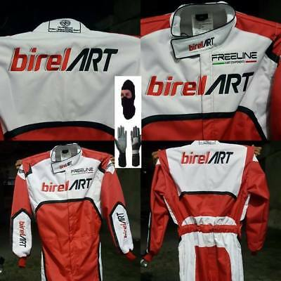 Birel Art Go Kart Racewear | New Adult Race Apparels | CIK/FIA level 2 Suit
