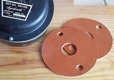 """ALTEC 1"""" Leather Gasket 2 Joints Cuir pro quality symbiotik 807 2 hole 7,62 axis"""
