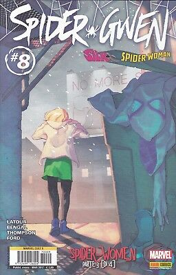 S13 - MARVEL CULT 9 - SPIDER GWEN N° 8   - Panini Comics