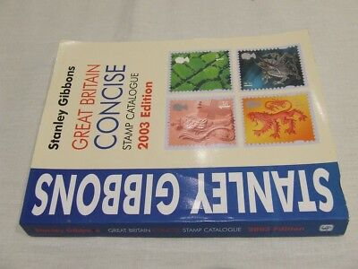 Stanley Gibbons Great Britain Concise Stamp Catalogue 2003, Very Good Condition