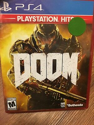 BRAND NEW SEALED Doom Sony PlayStation 4 2016 FAST SHIPPING PlayStation Hits