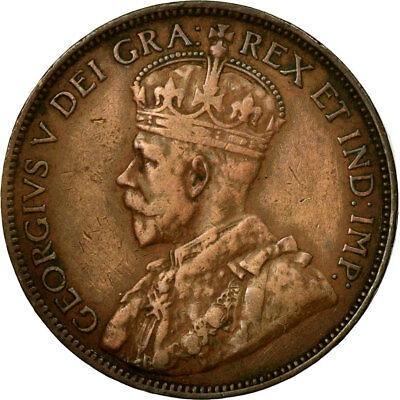 [#682219] Coin, Canada, George V, Cent, 1918, Royal Canadian Mint, Ottawa