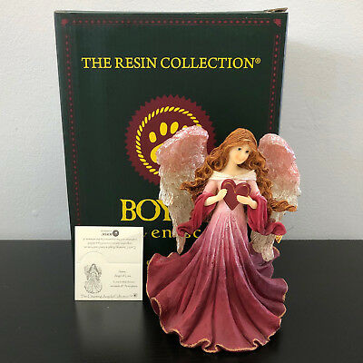 Boyds Charming Angels Aimee Angel of Love Mint in Box with Charm Limited Edition