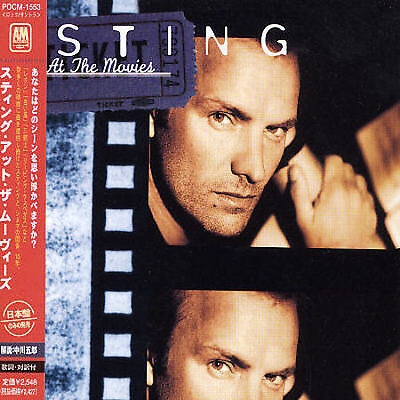 At the Movies by Sting Japan Import CD NEW SEALED POCM-1553 GIFT