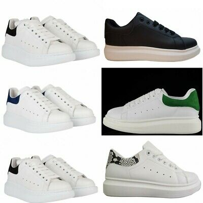 Mens mc Running Shoes Fashion Luxury Platform Trainers Flat Casual Sneakers