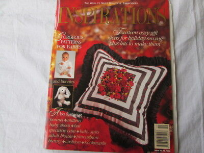 Inspirations magazine (embroidery etc) issue No 10