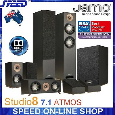 JAMO Studio 8 ATMOS 5.1.2 (7.1) Home Cinema System Speaker Package - (Brand New)