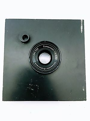 Schneider Kreuznach Componon 1:5.6 80 Mm W/mounting Plate Made In Germany A03