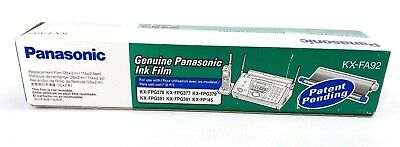 Genuine Panasonic Ink Film KX-FA92 Replacement Ink Film One Roll