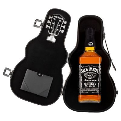 Jack Daniels 700Ml With Guitar Case Gift Pack