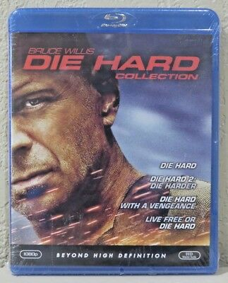 Die Hard: The Ultimate Collection (Blu-ray Disc, 2009, 4-Disc Set) BRAND NEW!