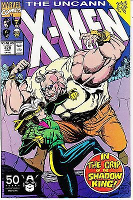 The Uncanny X-Men #278 (Jul 1991, Marvel) The Shadow King
