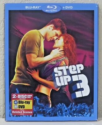 Step Up 3 (Blu-ray/DVD, 2010, 2-Disc Set) BRAND NEW>FREE SHIPPING!