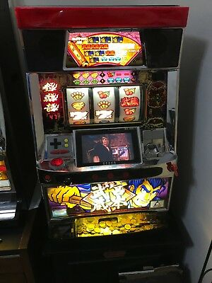 Pachislo Slot Machine with LED Screen - Fully Functional