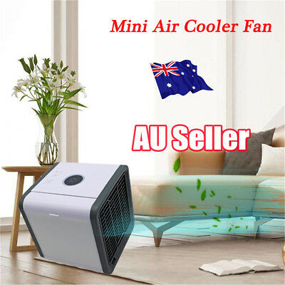 Portable Mini Air Conditioner Cool Cooling For Bedroom Arctic Air Cooler Fan EA