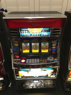 Yamasa Slot Machine with Holographic Reels (Includes 100 Play Tokens)